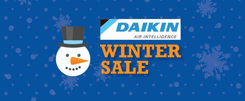 daikin winter sale