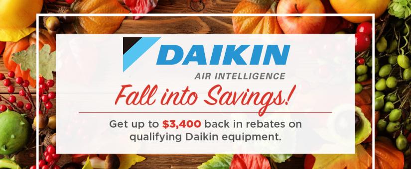 daikin fall promo