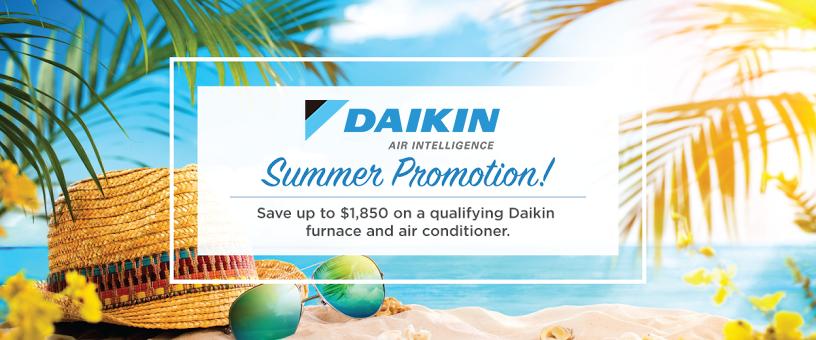 Save this Season with the Daikin Summer Promo!